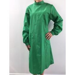 Blouse Emeraude en nylon vert vif