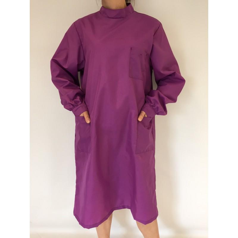Blouse Emeraude en nylon violet