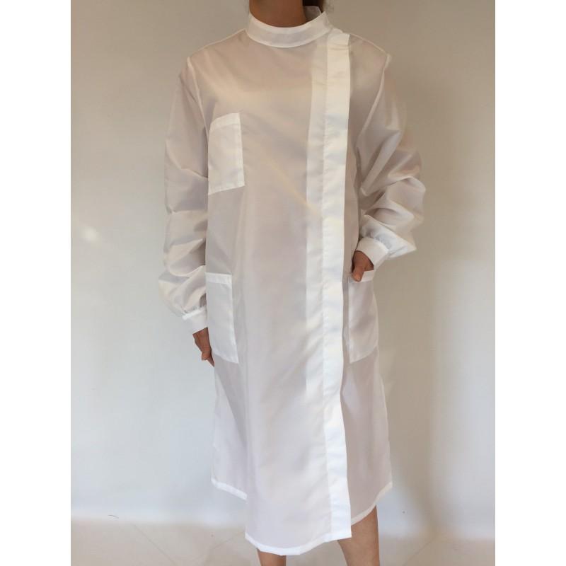 Blouse Mélisse en nylon blanc