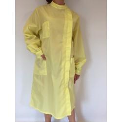 Blouse Mélisse en nylon jaune