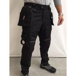 Pantalon de travail multipoches PXIII L 'ARTISAN FRANÇAIS PRO III noir