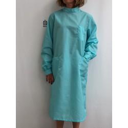 Blouse Emeraude en nylon Turquoise
