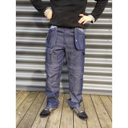 Pantalon de travail PRO EXPERT jeans bleu