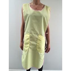 Chasuble Carole en nylon jaune