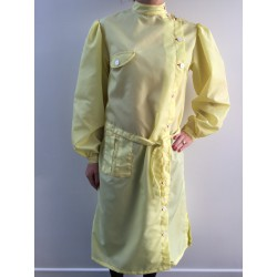 Blouse Marlène en nylon jaune