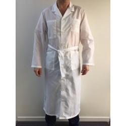 Blouse Jean Michel en nylon blanc