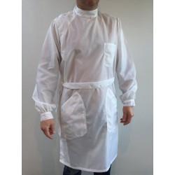 Blouse Yves en nylon blanc