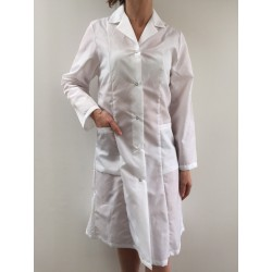 Blouse Princess en nylon blanc