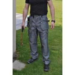 Pantalon de travail PRO EXPERT en denim noir