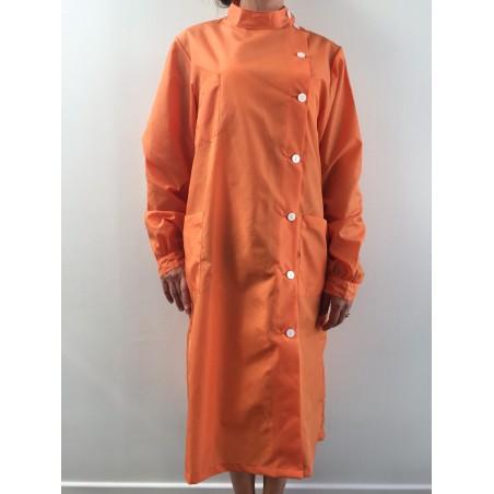 Blouse Rubis en nylon orange