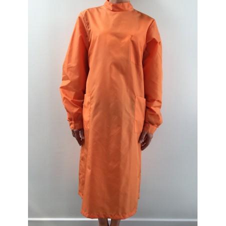 Blouse Emeraude en nylon orange