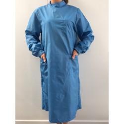 Blouse Emeraude en nylon bleu pervenche