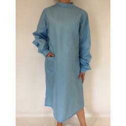 Blouse Emeraude en nylon bleu ciel