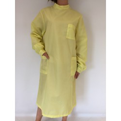 Blouse Emeraude en nylon jaune