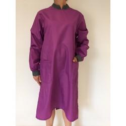 Blouse Safran en nylon violet