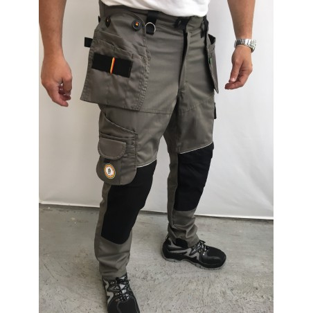 Pantalon de travail PXIII AGA kaki L'ARTISAN BELGE