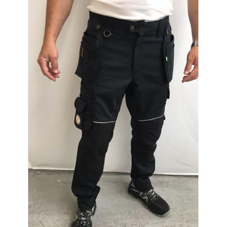 pantalon de travail PXIII AGA marine L'ARTISAN BELGE