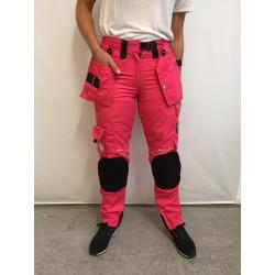 Pantalon femme multipoches L'ARTISAN BELGE FUSHIA