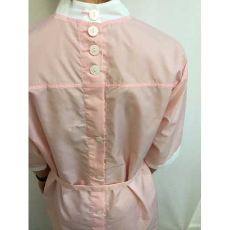 Blouse Clara en nylon Rose