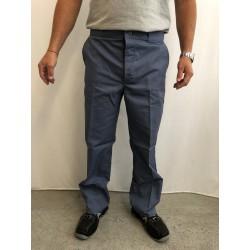 Pantalon de travail gris en majoritaire coton