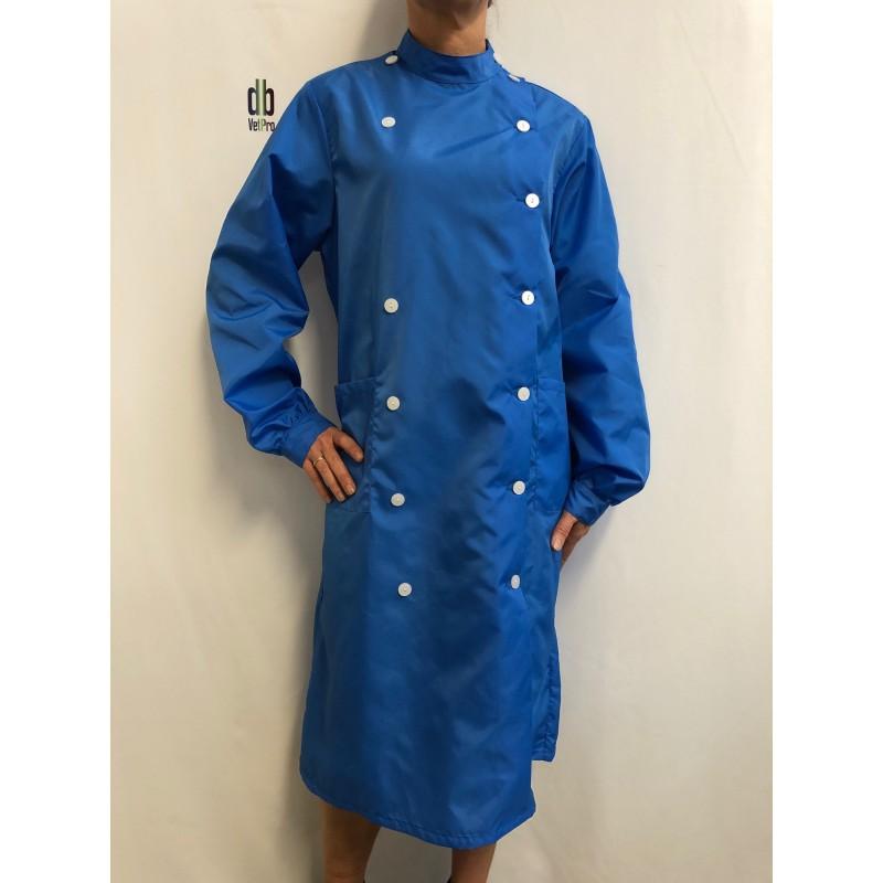 Blouse Cannelle en nylon Bleu Nattier