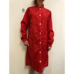 Blouse Calvi en nylon rouge