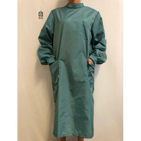 Blouse Emeraude en nylon vert Jade