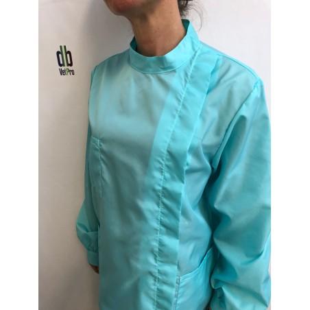 Blouse Mélisse en nylon Turquoise