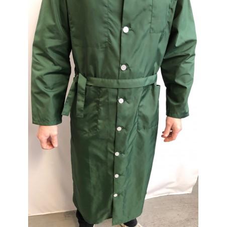 Blouse Jean Michel en nylon vert