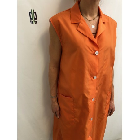Blouse Amande en nylon Orange