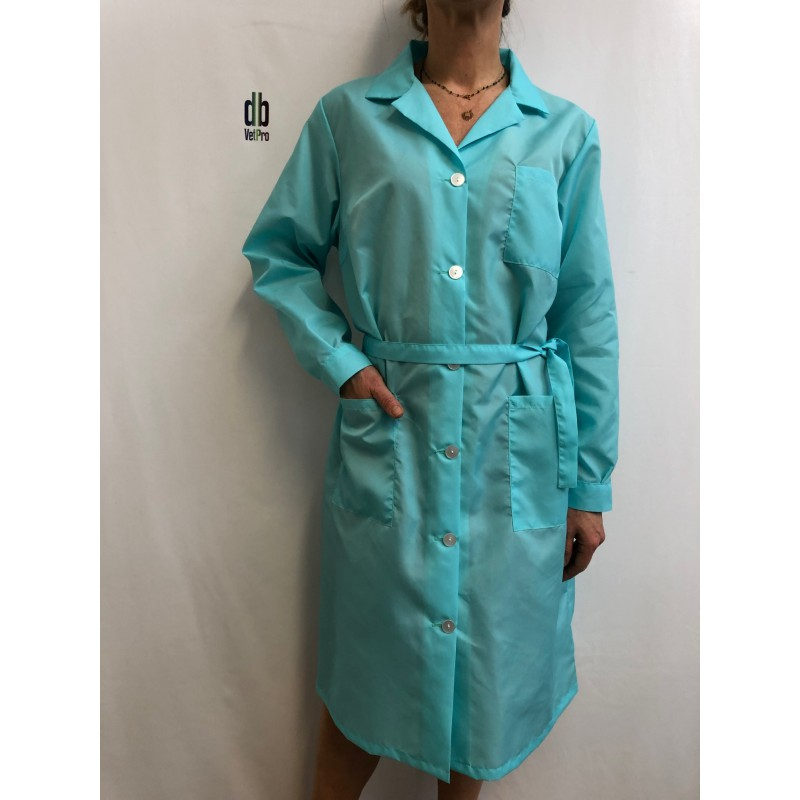 Blouse 11005 en nylon Turquoise