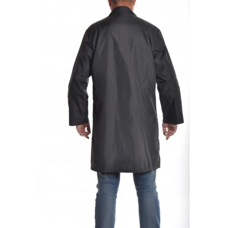 Blouse 0601 en nylon noir
