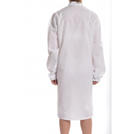 Blouse Angélique en nylon Blanc