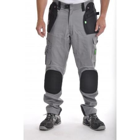 pantalon de travail PXIII AGF gris L'ARTISAN FRANÇAIS