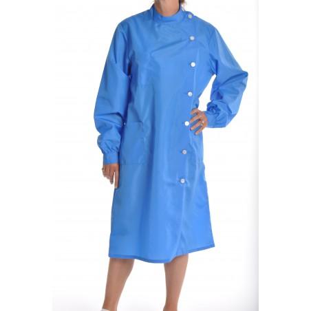 Blouse Rubis en nylon bleu nattier