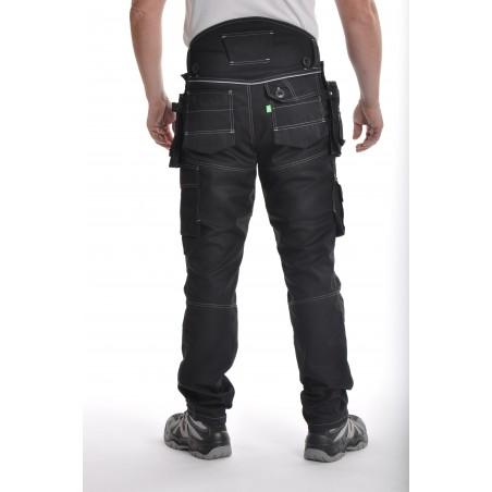 Pantalon de travail PXIV AGA noir