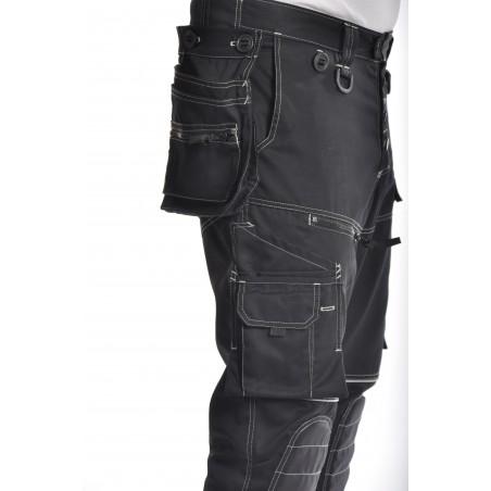 Pantalon de travail PXIV AGF noir
