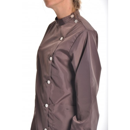 Blouse Rubis en nylon Marron