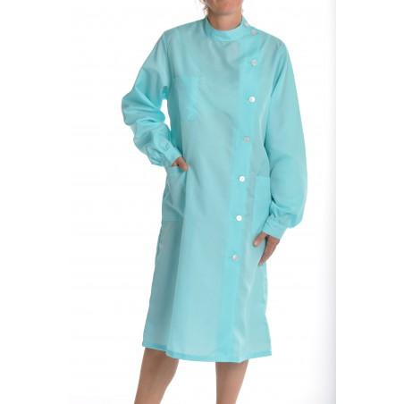 Blouse Rubis en nylon Turquoise