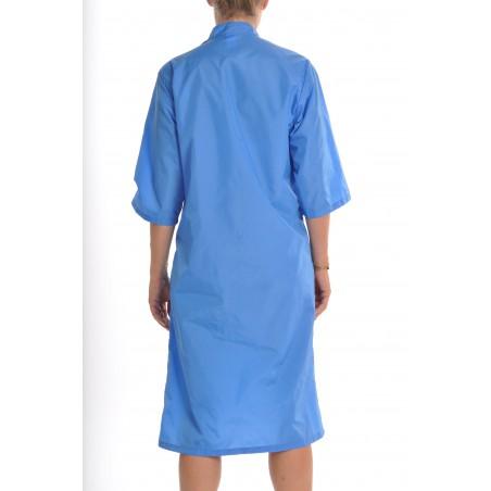 Blouse Saphir en nylon Bleu Nattier