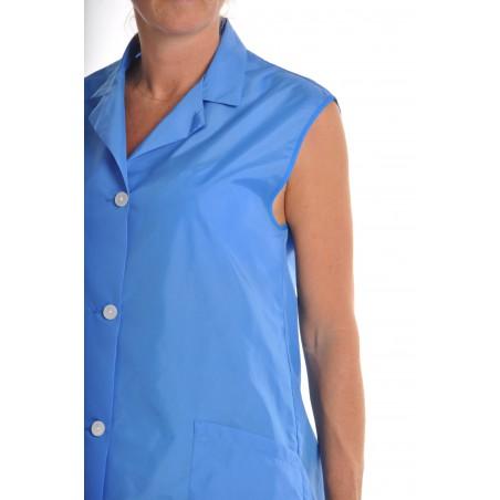 Blouse Amande en nylon Bleu Nattier