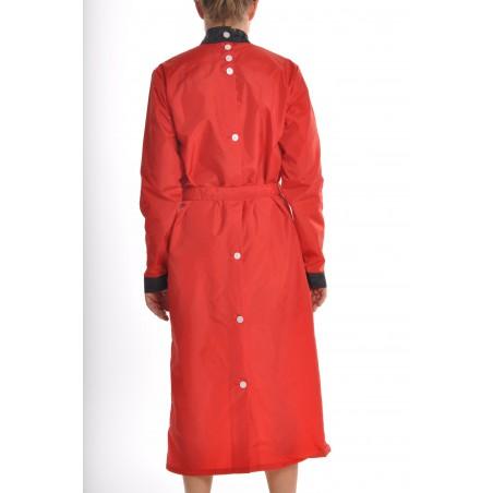 Blouse Anaïs en nylon Rouge