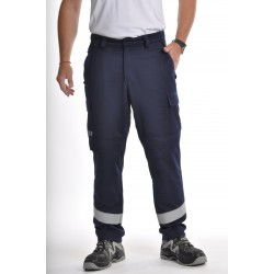 Pantalon Multirisques Bleu Marine