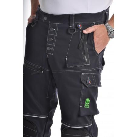 Pantalon de travail PXIV AGF Marine L'ARTISAN FRANÇAIS