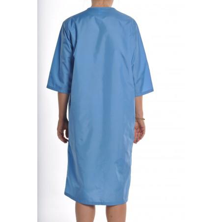 Blouse Jasmin en nylon Bleu Pervenche