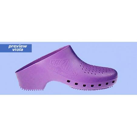 Sabot de bloc CALZURO violet