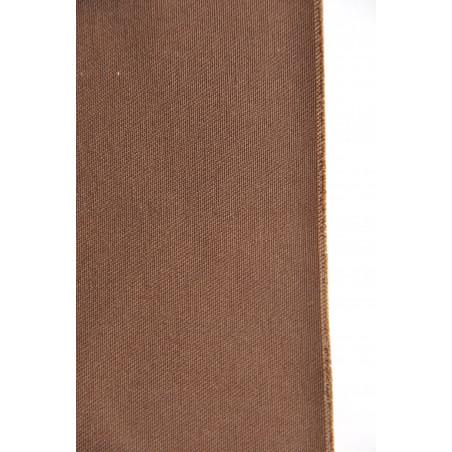 Tissu INDESTRUCTIBLE, Sergé majoritaire polyester, 245g/m², Marron