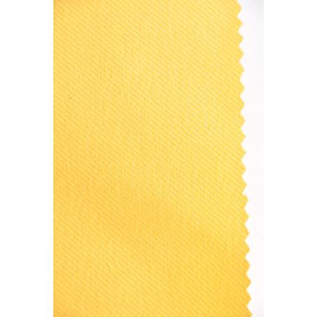 Tissu Croisé Retors, 100% coton, 330g/m², Jaune