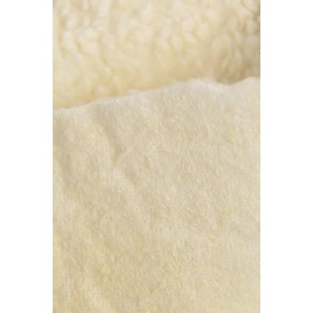 Tissu DANZA, Fourrure lourde, 290g/m², Écru