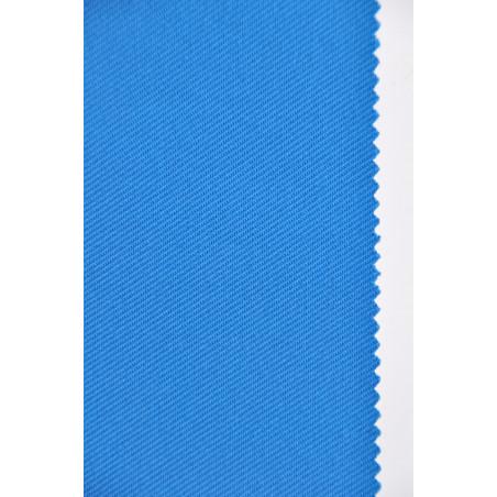 Tissu SuperMAINE, Croisé majoritaire coton, 300g/m², Bleu Azur